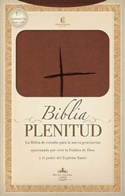 Biblia Plenitud Manual Marrón (Piel Italiana) [Biblias]