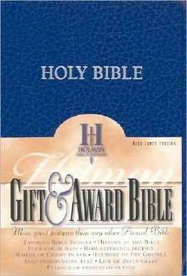 Bible KJV Gifts & Award Blue (Imitación Piel) [Biblias]