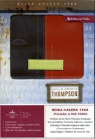 Biblia Thompson Personal Marrón Terracota RVR60